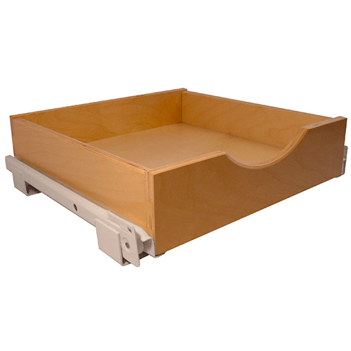 Pre-Made Pullout Drawer with EURO Slides