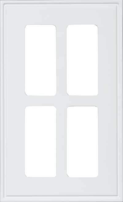 AMD361 RTF 4 lite Glass Cut Out Cabinet Door