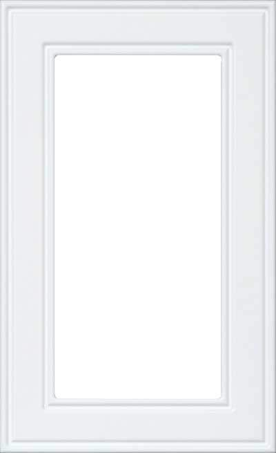 AMD361 RTF Glass Cut Out Cabinet Door