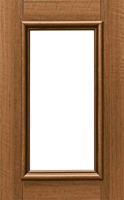 Zuccaro Glass Cut Out Cabinet Door