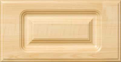 AL757 Routed Cabinet Wood Drawer Front