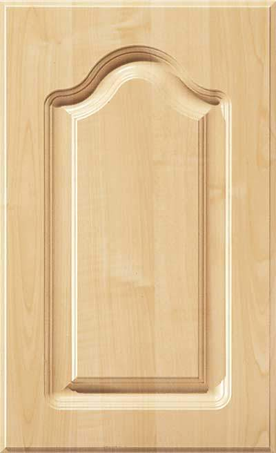 AL757 Routed Cabinet Wood Door