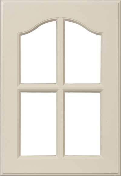 AL767 Kitchen and Closet Cabinet French Lite Door