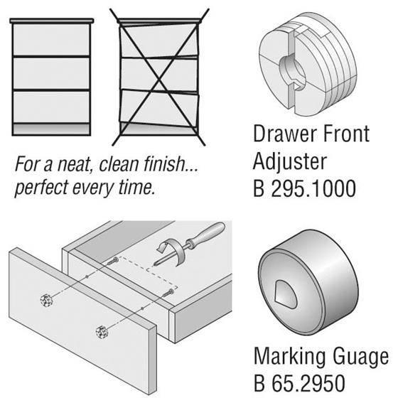 Blum 295-1000-Drawer Front Adjuster Solution