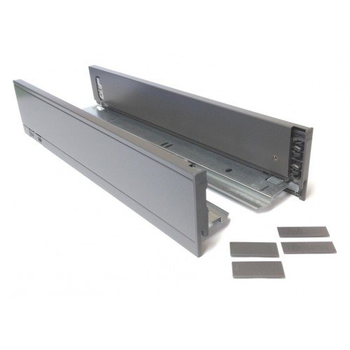 N Legrabox 18 Inch Drawer Profile Orion Gray Left and Right