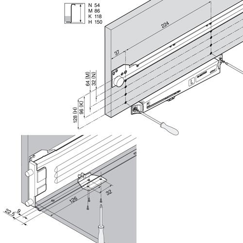Blum Metabox Instructions