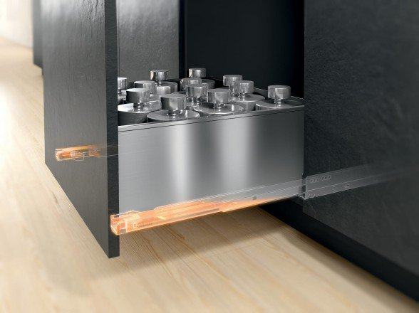Blum Kitchen and Living Area Drawers