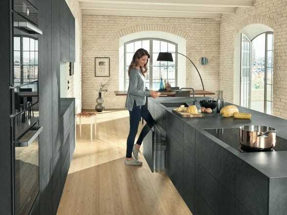 Blum MOVENTO Concealed Runner for Kitchen and Bathroom Cabinets
