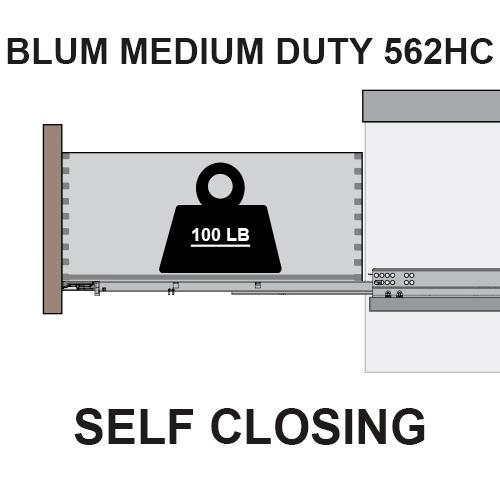 Blum Tandem 562HC